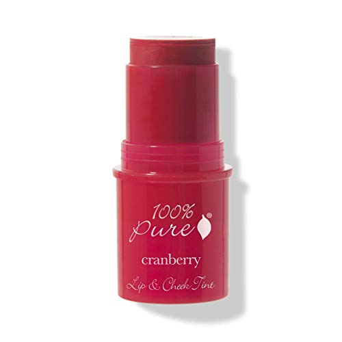 (100% Pure Lip and Cheek Tints, Cranberry Glow)