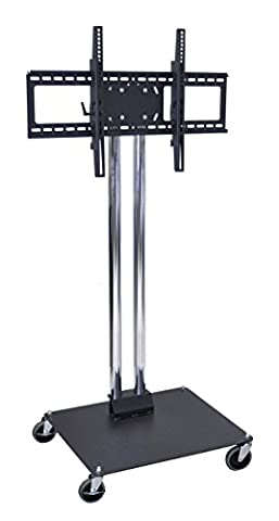 H WILSON WPSMS44CH-4 Universal Flat Panel Stand with 4