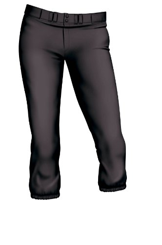 Easton Womens Pro Pant, Black, Medium