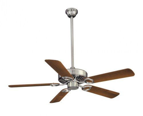 Minka-Aire F588-SP-BN, Ultra-Max, 54″ Ceiling Fan with Wall & Remote Control, Brushed Nickel Review