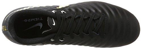 Nike Herren Fußballschuh Tiempo Ligera IV AG-Pro Schwarz (Black/Black/White)