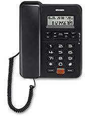 Brondi Office Desk - Telefono da ufficio con filo e display