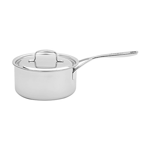 Demeyere 5-Plus Stainless Steel 2-qt Sauce - Gas Cooktop Heated