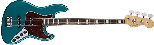 Fender American Elite Jazz Bass Ebony Fingerboard Ocean Turquoise