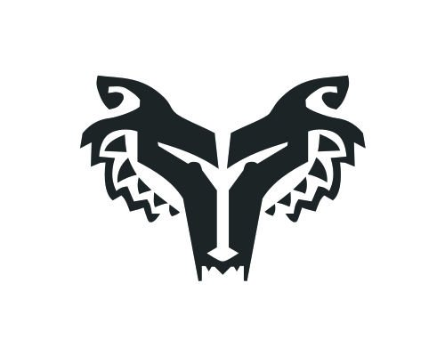 Star Wars Clone Wars Wolfpack Wolf Pack 6 inch decal (white)