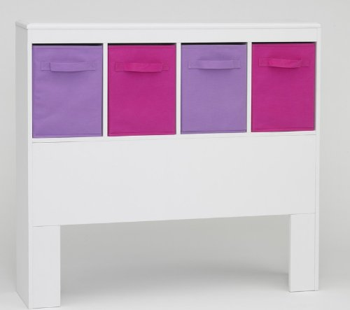 4D Concepts Girl's Headboard, (4d Concepts Girls Storage)