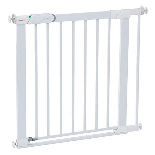 Safety 1St Safety 1St Flat Step Pressure,Mounted Baby Gate, White, One Size