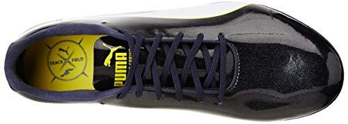 Black Unisex puma Sprint Puma Evospeed puma White blazing Yellow Zapatillas Atletismo Negro 9 Adulto De 5YSqSxvz