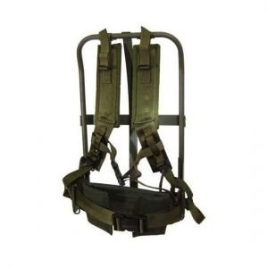 Military Surplus Gi Alice Pack Frame W/Fastex Buckle Complete, OD Green, F690ODS