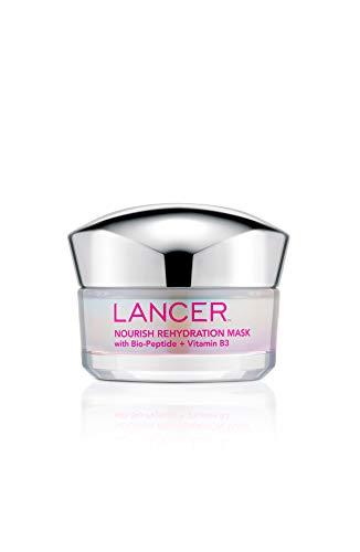 Nourish Rehydration Mask with Bio-Peptide + Vitamin B3, 1.7 FL OZ, Dr. Lancer Dermatology Skincare, Multi-Use, Intensive…