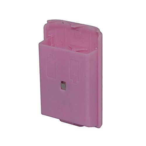 Cinpel Replacement Wireless Controller Battery Cover for Xbox 360 Pink (Pink Xbox 360 Controller Cover compare prices)