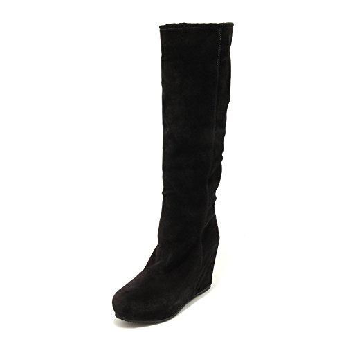 Donna Car 5064g Stivale Boots Shoes Shoe Zeppa Nero Scarpa Interna Scamosciato W 5qwBw1
