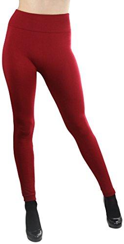ToBeInStyle Womens Fleece Length Leggings