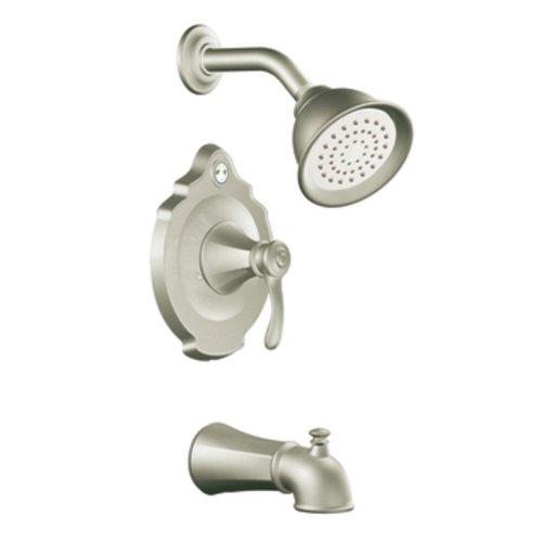 Temp Posi Tub Vestige - Moen T2503EPBN Vestige Posi-Temp Tub and Shower Trim Kit without Valve, Brushed Nickel