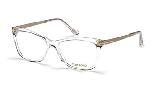 TOM FORD Eyeglasses FT5353 026 Crystal 54MM