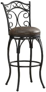 American Heritage Billiards Solana Counter Height Stool, Gray