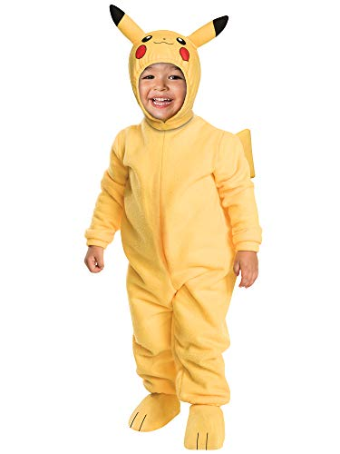 Rubie's Pokemon Pikachu Toddler Jumpsuit Costume (Pikachu, 2T)