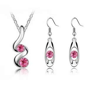 Fashion Crystal Drop Necklace earrings set - http://coolthings.us