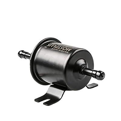 MOSTPLUS Universal Low Pressure Gas Diesel Inline Metal Solid Petrol 12V Heavy Duty Electric Fuel Pump for Motorcycle Carburetor ATV HEP-02A: Automotive