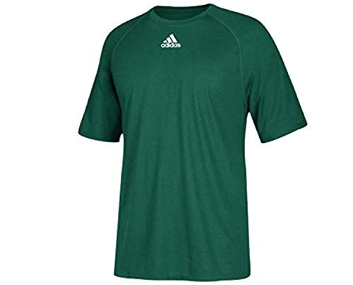 adidas Climalite Short Sleeve Tee, Color: Dark Green, Size: M (2996-A25-M) Adidas Climalite Short Sleeve Tee