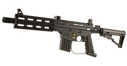 Amazon Com Us Army Project Salvo Paintball Gun Black Paintball