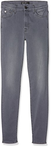 Crop dark Grey Hw Grigio Mankind 7 Skinny Jeans For All Donna XwvcqxzH