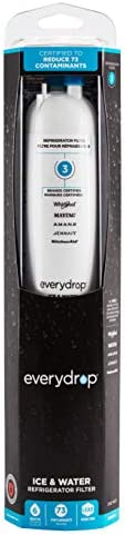 EveryDrop through Whirlpool Refrigerator Water Filter 3, EDR3RXD1 (Pack of one),White