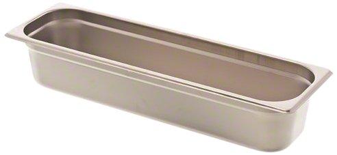 Browne (22244L) 4'' Half-Long Size Anti-Jam Steam Table Pan