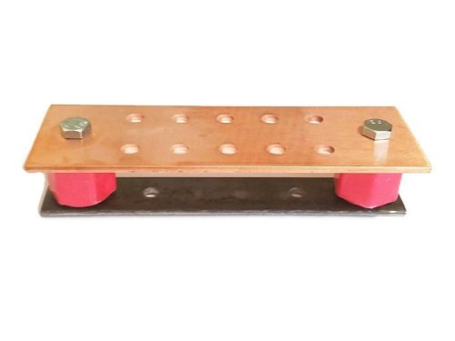 "Price comparison product image Ham Radio .125"" x 2"" x 6"" Copper Ground Bar Kit- SCGB-HAM-6KT"