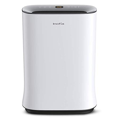 Inofia Air Purifier with True HEPA Air Filter, Air Cleaner for Large Room, for Spaces Up to 800 Sq Ft, Perfect for Home…