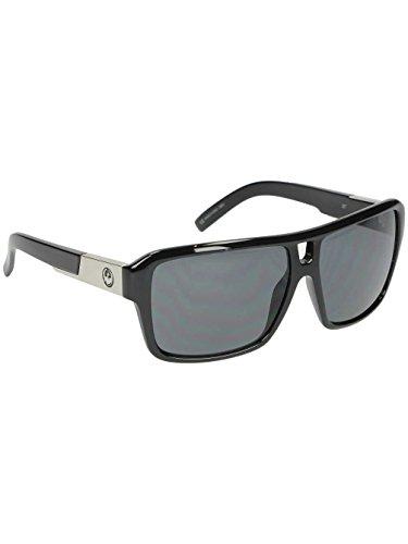 Dragon Sunglasses - The Jam / Frame: Jet Black Lens: Grey Polarized
