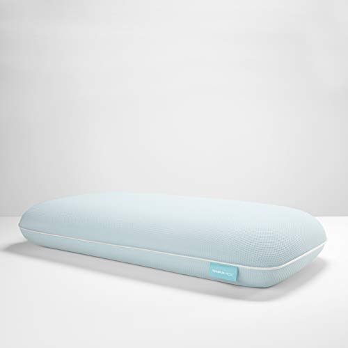 Tempur-Pedic TEMPUR-ProForm + Cooling ProLo Pillow, King, White