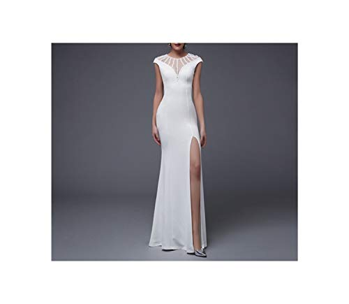 O Neck Evening Prom Formal Party Dress Elegant Vintage Robe Longue,Colour, 2,Floor Length (The Winter Mant)