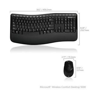 Microsoft Wireless Comfort Desktop