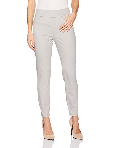 Tribal Women's Pull On Ankle Pant, Silver, 10 ()