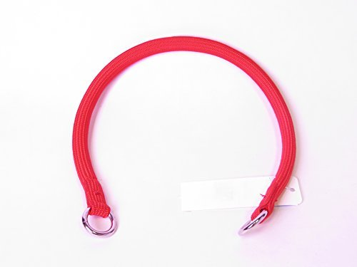 - Coastal Pet Products Round Nylon Red Choke Collar for Dogs, 3/8 By 18-inch