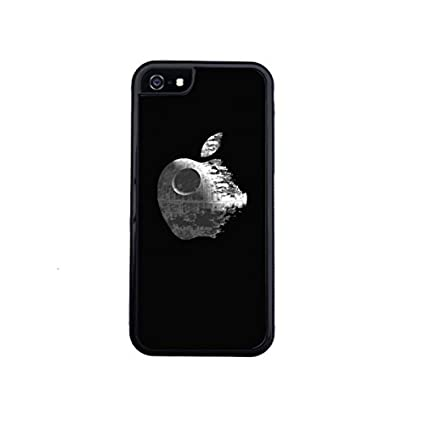 huge selection of 4f36c af6cf Apple and Star Wars death star inspired iPhone 6 / 6s case by Little Brick  Press (hard silicone rubber case.)