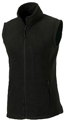 Colours Jerzees Ladies Outdoor Color Black Gilet XL Size Fleece rrTZd1wnqx