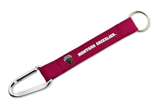 NCAA Montana Grizzlies Carabiner Lanyard Keychain