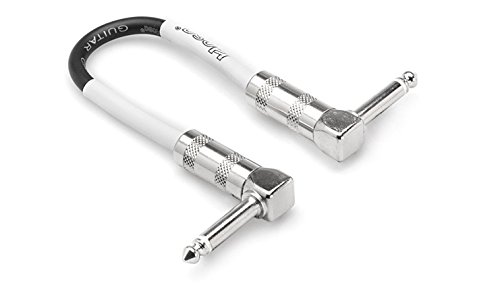 Hosa CPE-112 Right-Angle to Right-Angle Guitar Patch Cable, 12 (Cbi Patch)