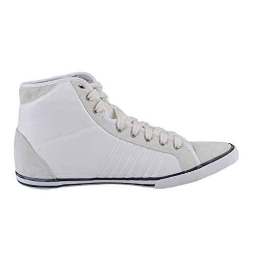 Shoes Suede Sneakers White Hi EA7 Armani Women's Emporio Top Leather ACqF6nw8x