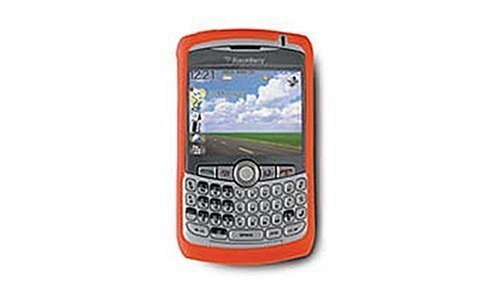 BlackBerry Skin for BlackBerry 8300, 8310, 8320, and 8330 (Red) Blackberry Curve 8330 Faceplate