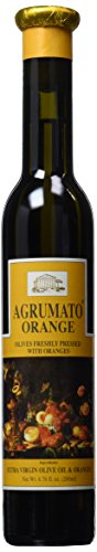 Agrumato Olive Lemon Oil - Agrumato Orange Extra Virgin Olive Oil 200 ml Bottle