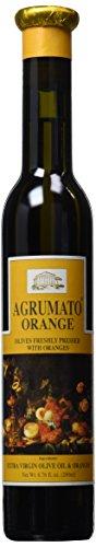 Lemon Oil Agrumato Olive - Agrumato Orange Extra Virgin Olive Oil 200 ml Bottle