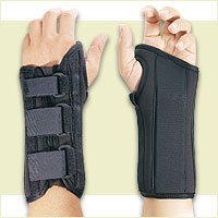 Wrist Splint Support Brace 8'', Pro-Lite FLA Orthopedics X-Small Left Wrist