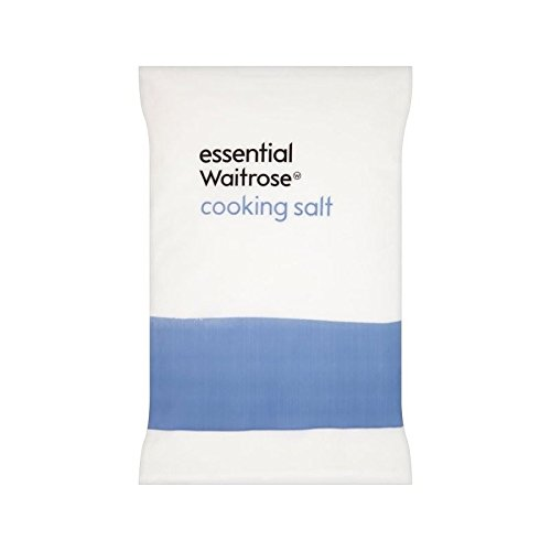 Cooking Salt essential Waitrose 1.5kg - Pack of 6 by WAITROSE