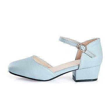 Chaussures white Polyuréthane Escarpin Gros Femme Escarpin Evénement TalonBlanc Habillé Basique LvYuan Eté ggx Basique Boucle amp; Mariage Talons à Soirée wHxE0q