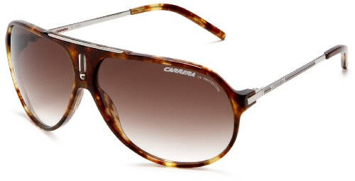 Carrera Hot Aviator Sunglasses,Green Frame/Brown Gradient Lens,one - 1 Carrera Sunglasses