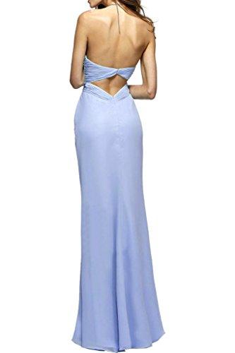 Einfach Herz Ausschnitt Ivydressing Festkleid Lang Ballkleid Chiffon Rueckenfrei Abendkleid Promkleid Lavendel Damen Z5qqxwB4