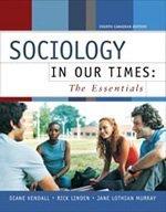 Sociology in Our Times pdf epub
